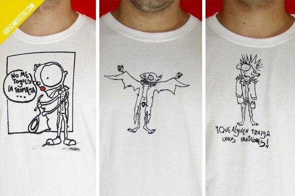 Camisetas Monocromo