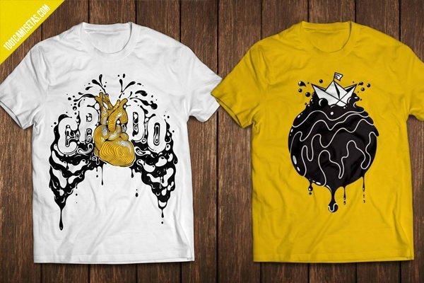 Camisetas oceano limpio canarias
