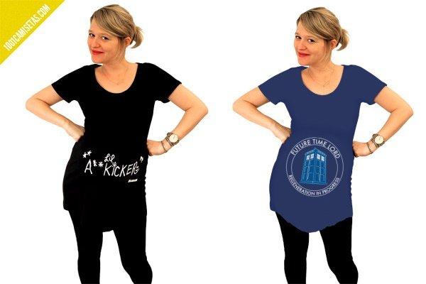 Camisetas frikis embarazadas