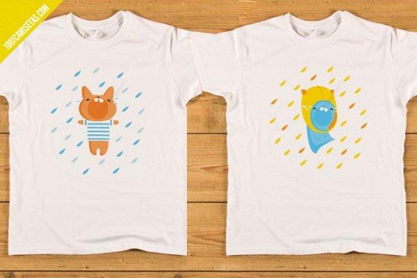 Camisetas con dibujos