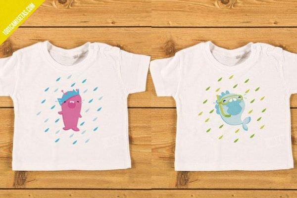 Camisetas divertidas bebes