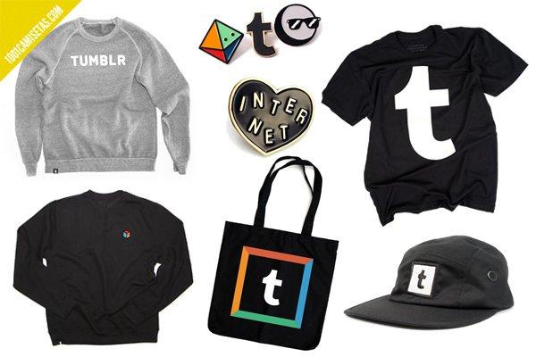 Tumblr merchandising