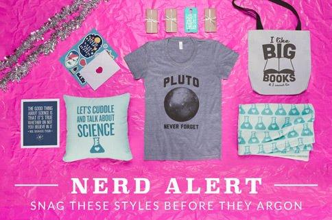 Camisetas nerds