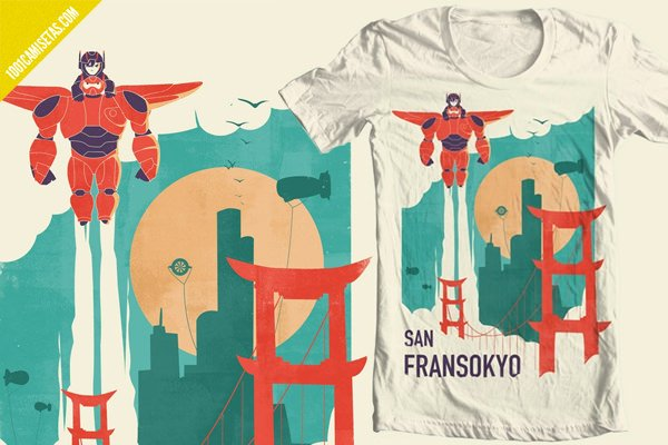 Big hero 6-t-shirt