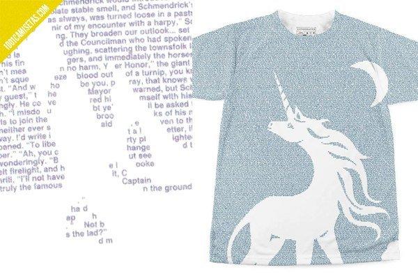 Camiseta el ultimo unicornio