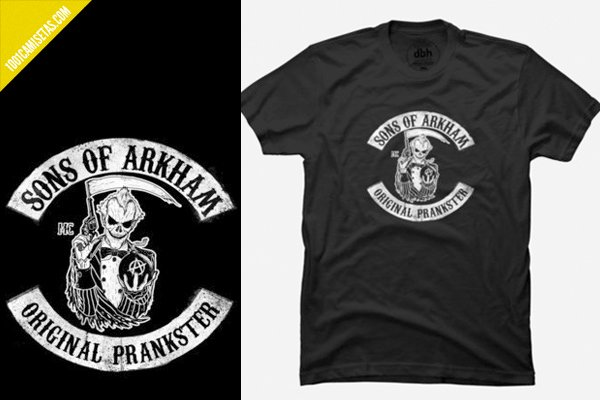 Camiseta Joker sons of anarchy