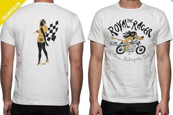 Camisetas motos