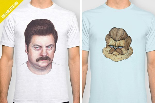 Ron swanson t-shirts