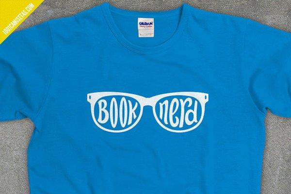 Camiseta book nerd