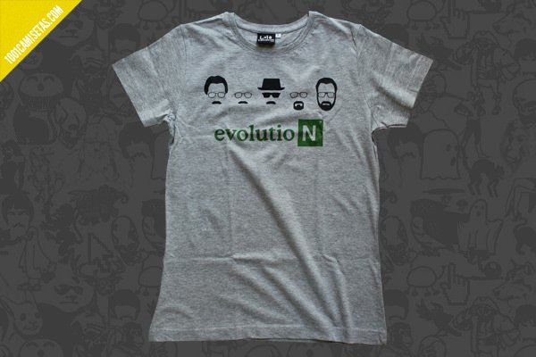 Camiseta heisenberg evolution