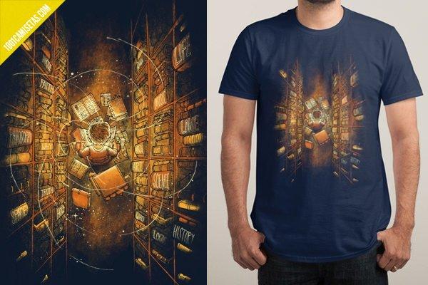 Camiseta libreria