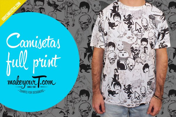 Camisetas fullprint