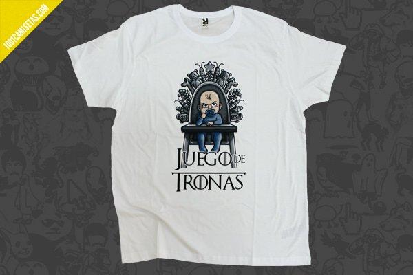 Camiseta juego de tronas impresión digital