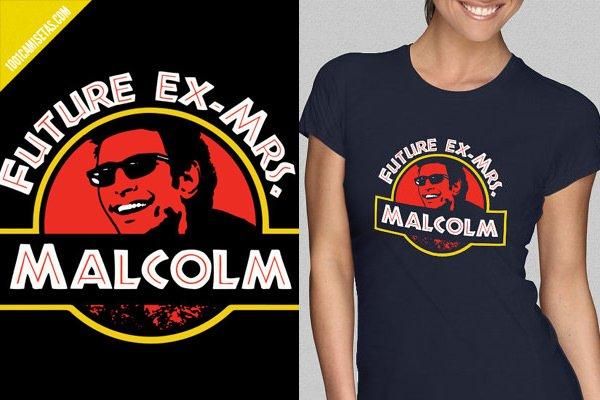 Camiseta Jurassic Park Malcolm