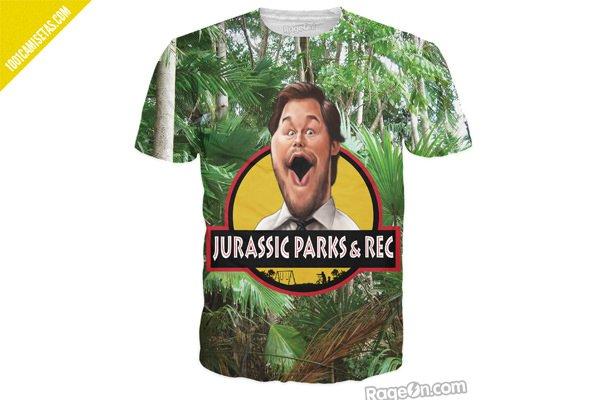 camiseta jurassic world parks