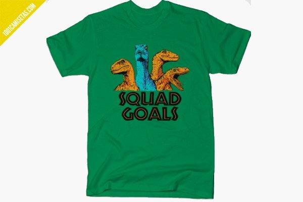 Camiseta squad goals