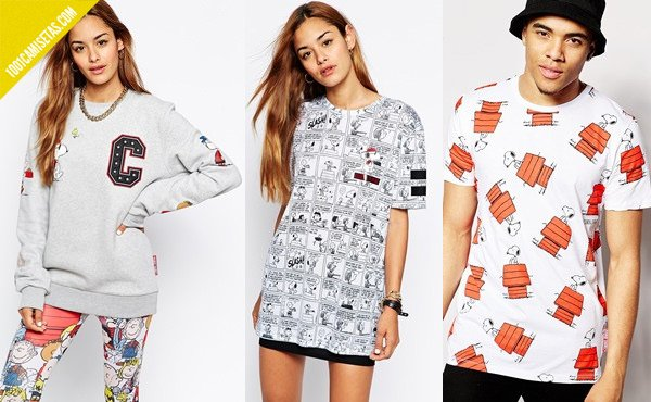 Camisetas snoopy criminal damage