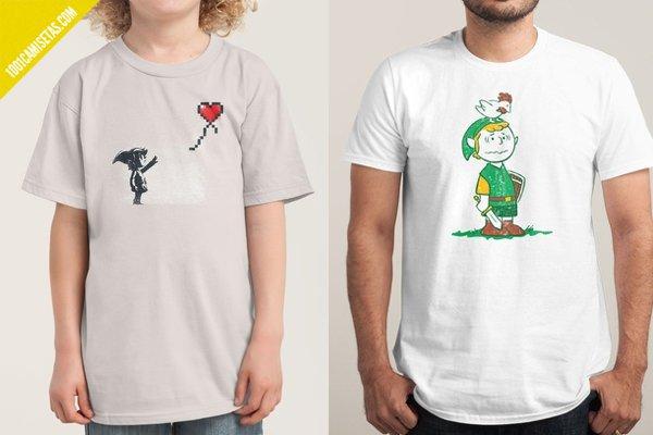 Camisetas zelda