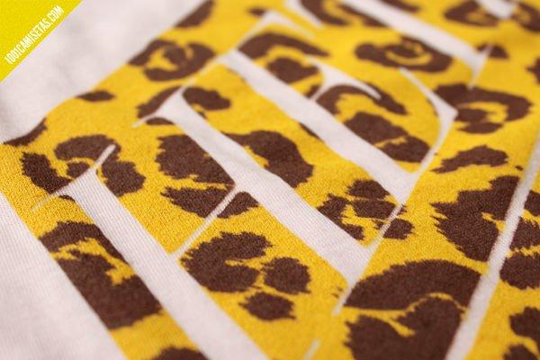Camiseta serigrafía diseño