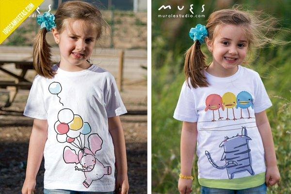 Camisetas muralestudio