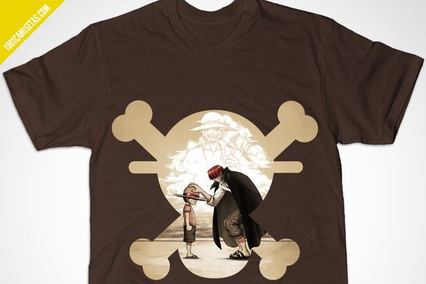 Camisetas one piece rey piratas