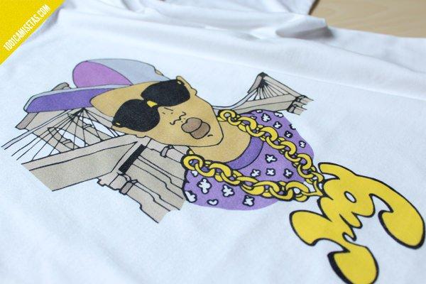 Camiseta gansta