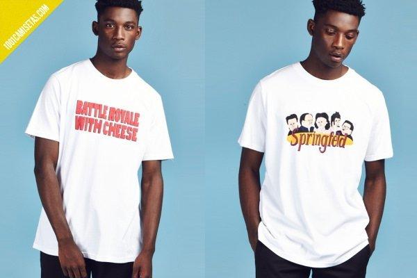 Camisetas diseño lazy oaf