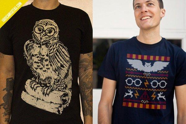 Camisetas hedwig