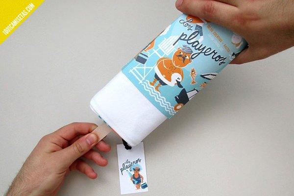 Packaging camisetas