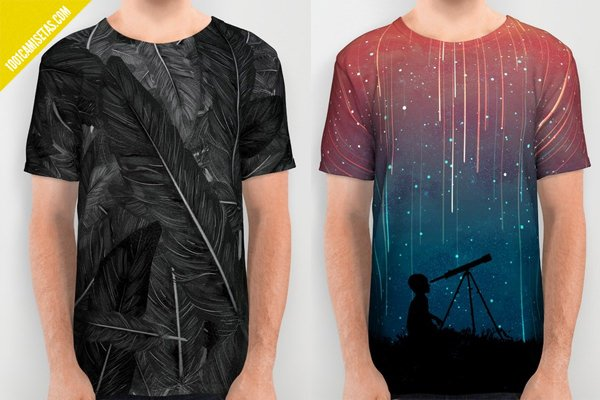 Camisetas full print society6