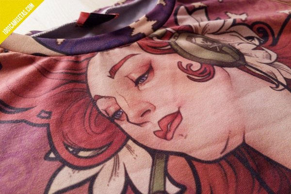 Camiseta gamer medusa dollmaker