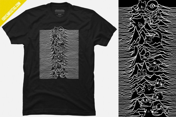 Camiseta joy division pokemon