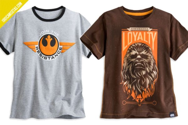 Camisetas star wars alianza