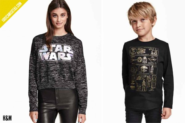 Camisetas star wars hm