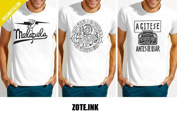 Camisetas zote.ink