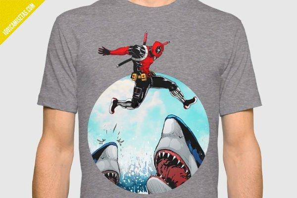 Camiseta deadpool divertida