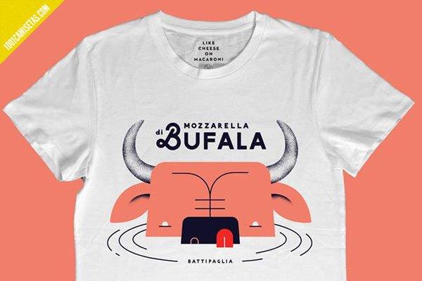 Camiseta mozzarella bufala