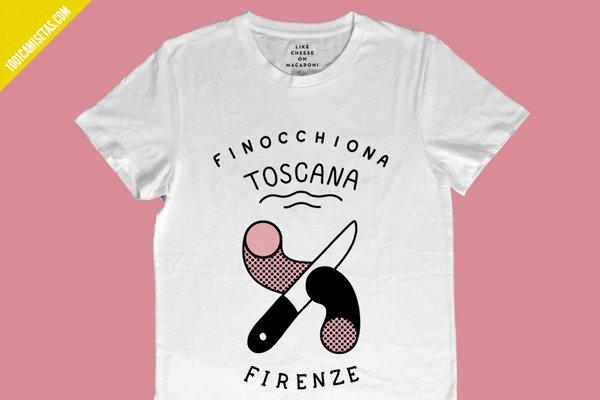 Camiseta toscana firenze