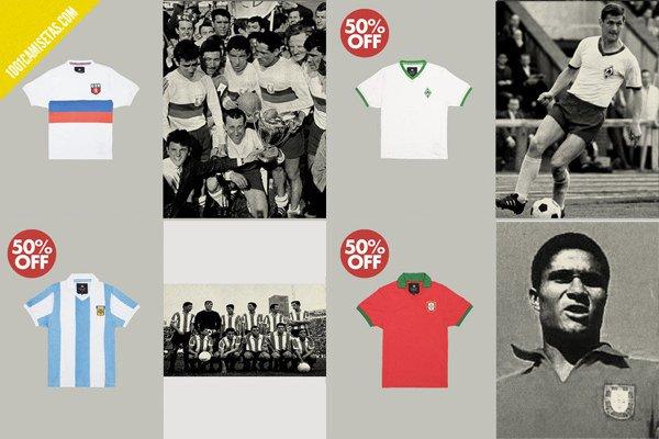 Camisetas fútbol argentina