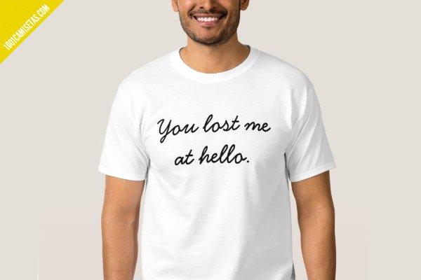 Camisetas para solteros