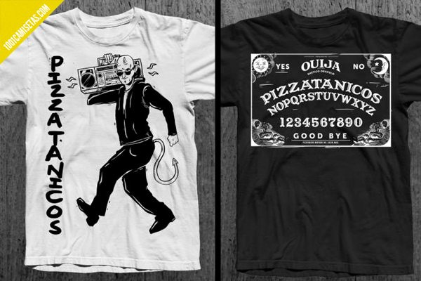 Camisetas ouija