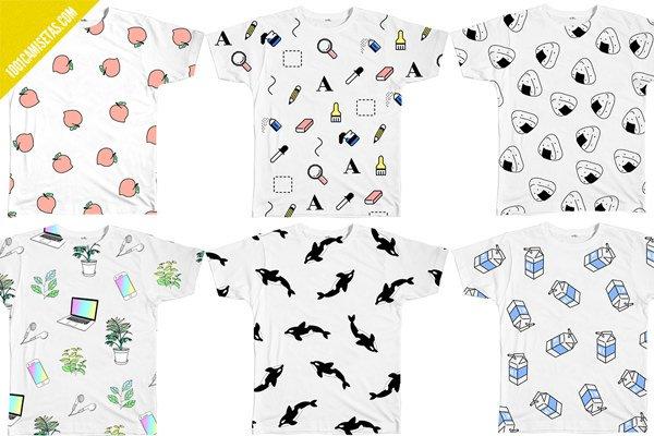 Camisetas full print inu inu