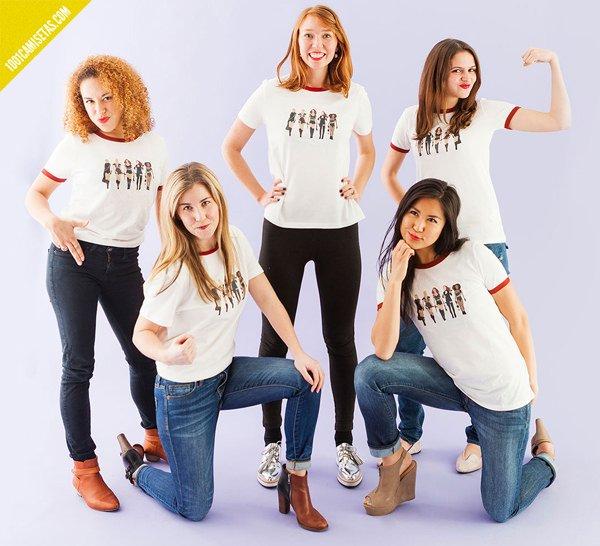 Camisetas girl gangs