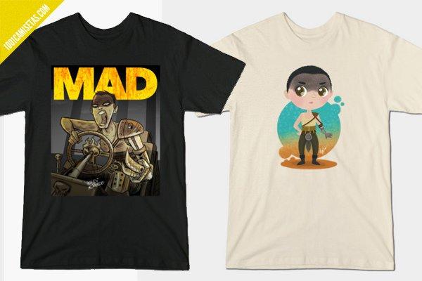 Camisetas mad max imperator furiosa
