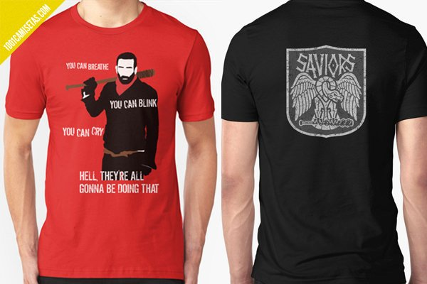 Camisetas negan the walking dead