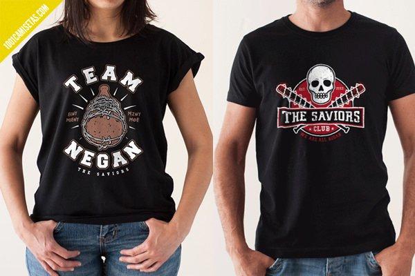 Camisetas the saviors