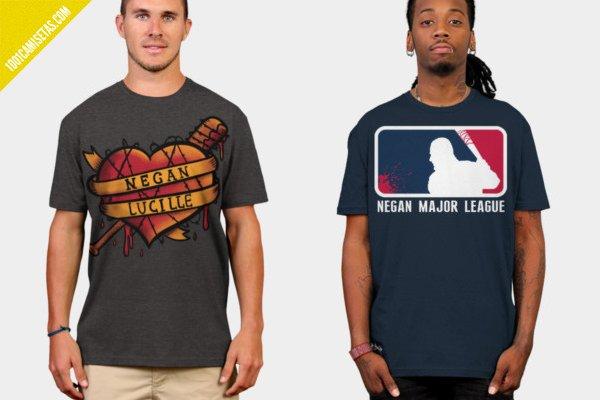 Camisetas walking dead