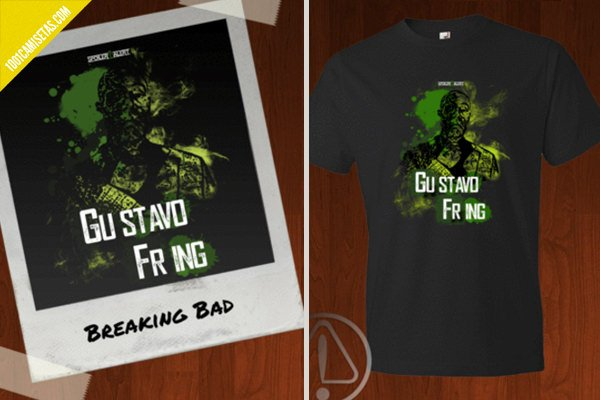 Camiseta breaking bad spoiler