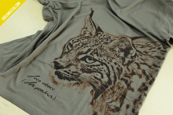 Camiseta de lince somos fauna