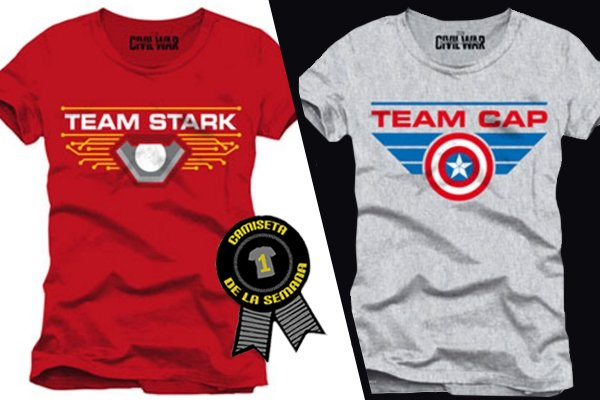 Camiseta semana civil war